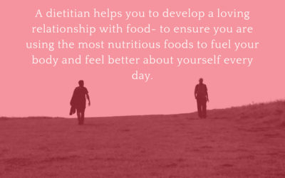 A Dietitian does NOT help you DIET