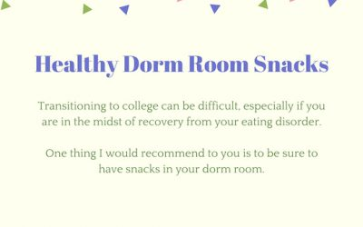 Snacks for a Dorm Room: 10 Tips from a Registered Dietitian Nutritionist