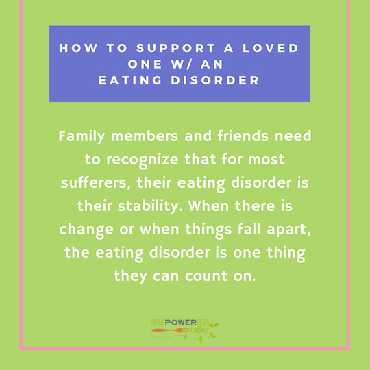 How To Support Loved Ones With An Eating Disorder