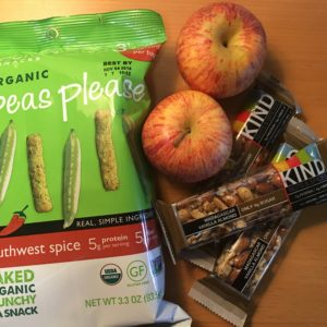 snacks meal plan